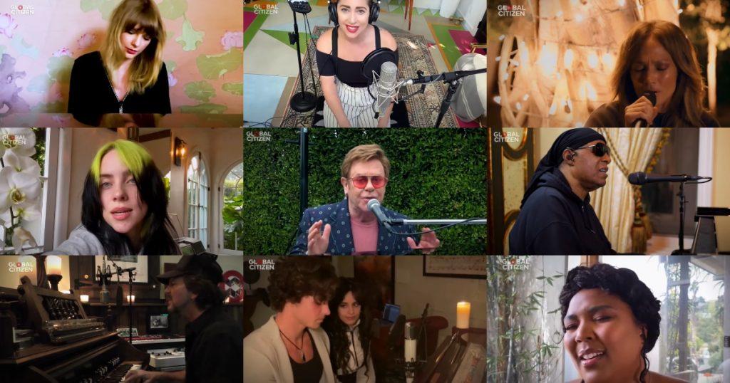 Pratique seu inglês ouvindo ao One World: Together at Home